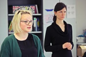 """Barbara Kießling & Stephanie Most, OVIGO (""""Böse)"""