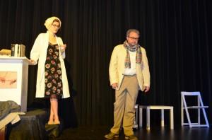 "OVIGO Theater (2013), ""Jakes Frauen"", Eva Rost und Florian Waldherr"