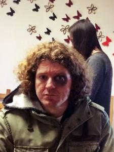 Blaues Auge für Michael Zanner