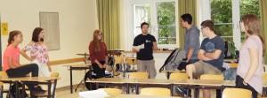"""Regisseur Florian Wein bei """"Mein Freund, der Schrank"""""""