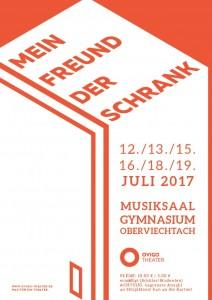 """OVIGO-Plakat """"Mein Freund, der Schrank"""""""