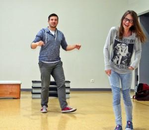 OVIGO Theater-Training / Florian Wein, Denise Gießübl