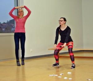 OVIGO Theater-Training / Christina Götz, Theresa Weidhas