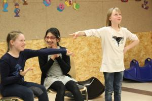 OVIGO-Kids, Theater-Training