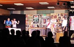 """""""Männerhort"""" 2017 als Gastspiel in Nürnberg-Langwasser (Theaterkiste)"""