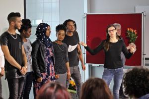 OVIGO macht Schule, Berufsintegrationsklasse Oberviechtach (2019)