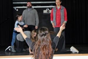Theresa als Workshop-Leiterin (2017)