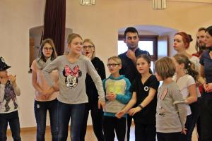 Probe Pippi Langstrumpf (OVIGO Theater)