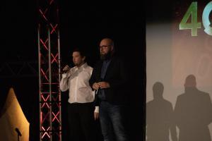 40VIGO / Moderatoren Florian Wein & Michael Sandner