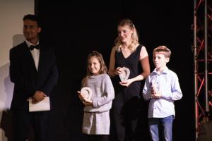 OVIGO Oscars für Familie Gitter (mit Annika und Jonah)