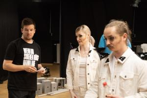 "Proben für ""A Clockwork Orange"" (OVIGO Theater 2019)"