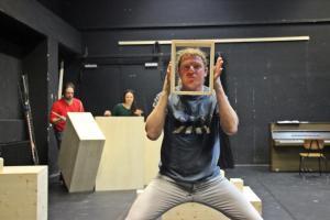 """A Clockwork Orange"" Probe in Regensburg (OVIGO Theater)"