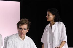 A Clockwork Orange mit Sina Schröder / OVIGO Theater