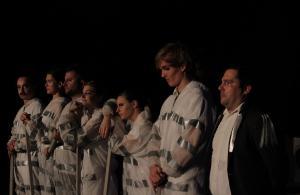 """A Clockwork Orange"" Wiederaufnahme, OVIGO Theater, Dezember 2019"