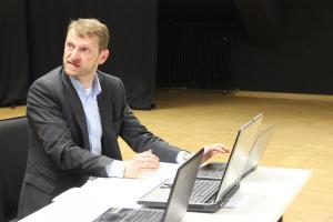 "Christian Gnan, Probe für ""Böse"" / OVIGO 2018"