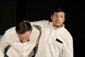 "Ludwig Koller & Florian Wein (OVIGO Theater, ""Böse"")"