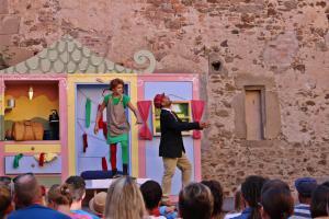 "OVIGO Theater, ""Pippi Langstrumpf"", Burgtreswitz"