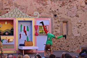 Lena Borowski ist Pippi Langstrumpf (OVIGO Theater 2019)