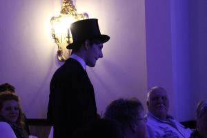 OVIGO Dinner mit Killer, Schlosshotel Ernestgrün, Richard Baudach