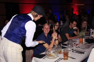 """""""Dinner mit Killer"""", Daniel Adler, OVIGO Theater"""