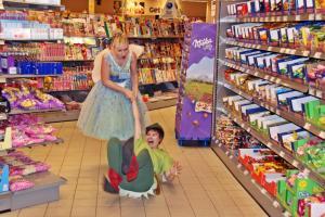 "Promo-Clip Dreh für ""Peter Pan"""