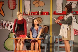 Julia Gitter (links), OVIGO Theater, Eine ganz heiße Nummer