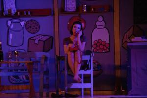"""""""Eine ganz heiße Nummer"""" vom OVIGO Theater, Stephanie Most"""