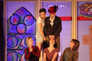 Julia Gitter, OVIGO Theater, Eine ganz heiße Nummer