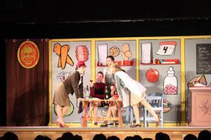"""Ilona Glück (rechts), OVIGO Theater, """"Eine ganz heiße Nummer"""""""