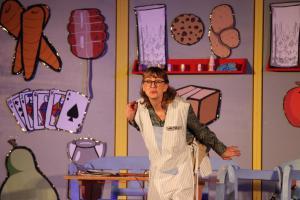 """OVIGO Theater mit """"Eine ganz heiße Nummer"""", Ilona Glück"""