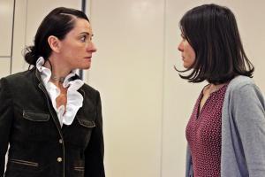 """""""Eine ganz heiße Nummer"""", OVIGO Theater, Probe, 2019"""