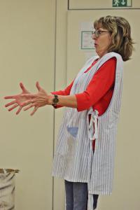 Ilona Glück als Waltraud, Eine ganz heiße Nummer (Probe)