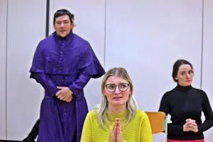 """""""Eine ganz heiße Nummer"""" Probe, OVIGO Theater (2019)"""
