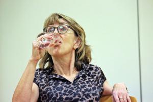 """Probe """"Eine ganz heiße Nummer"""", Ilona Glück, OVIGO Theater"""