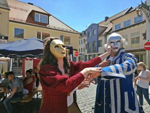 Markttreiben beim Festspiel Oberviechtach (OVIGO Theater 2019)