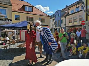 OVIGO Theater beim Markttreiben Oberviechtach 2019