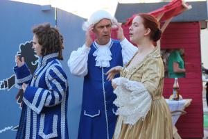 Eisenbarth Festspiel Markttreiben mit dem OVIGO Theater