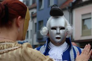 Markttreiben beim Festspiel Oberviechtach (OVIGO Theater)