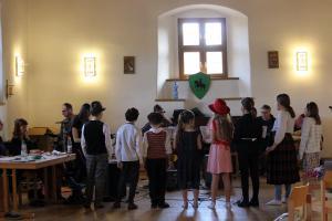 Proben-Wochenende, Burg Trausnitz, OVIGO, Emil und die Detektive