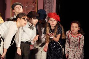 """""""Emil und die Detektive"""", Probe, OVIGO Theater (2020)"""