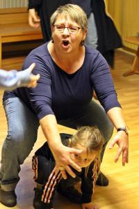 """Fortuna"" Probe, Renate Bauer, OVIGO Theater"