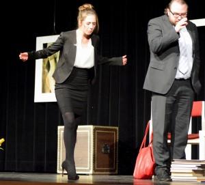 """OVIGO Theater, """"Der Gott des Gemetzels"""", Vanessa Civiello & Florian Waldherr"""