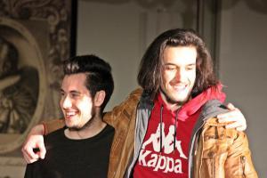 "Roberto Richter (rechts), ""Identität"", OVIGO"