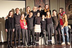 """Stückentwicklung """"Identität"""" mit OVIGO-Jugendlichen und Bundesfreiwilligen"""