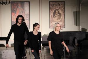 """Stückentwicklung """"Identität"""", mit Roberto Richter, OVIGO Theater"""