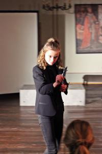 "OVIGO Theater, ""Identität"", Emilia Schopper"