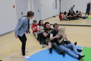 OVIGO Theater-Training mit Benedikt Fröhlich, 2018