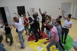 OVIGO Theater-Training mit Benedikt Fröhlich