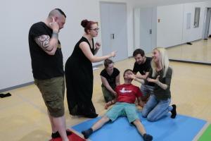 OVIGO Theater-Training mit Benedikt Fröhlich (2018)