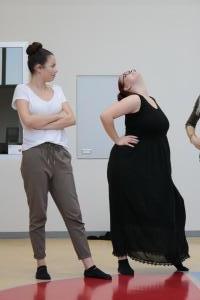 OVIGO-Impro mit Lena Biegerl und Paula Klepser